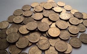 Picture money, coins, tenge