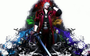 Picture abstraction, collage, the game, Devil May Cry 4