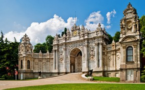Picture turkey, istanbul, Dolmabahce Place