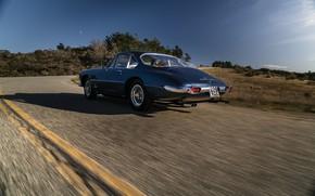 Picture Road, Speed, Ferrari, Lights, Classic, Chrome, Classic car, Ferrari 400 Superamerica, The Short Wheelbase Coupe …