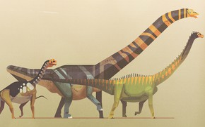 Picture Minimalism, Style, Dinosaur, Art, Art, Style, Minimalism, Dinosaurs, Giants, The Jurassic period, Atlas of the …