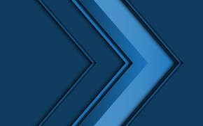 Picture line, blue, background, blue, arrow, geometry