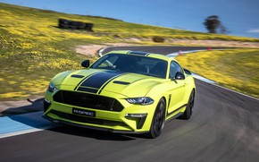 Picture speed, Mustang, Ford, racing track, AU-Spec, R-Spec, 2019, Australia version