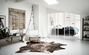 Picture style, interior, bedroom, living room