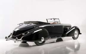 """Picture Convertible, Classic, Lancia, Chrome, Classic car, 1936, Lancia Astura Cabriolet, Type """"The Mouth"""""""