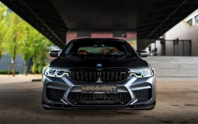 Picture BMW, sedan, front view, Biturbo, BMW M5, Manhart, M5, V8, F90, 2019, 4.4 L., MH5 …