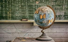Picture Board, globe, Klas