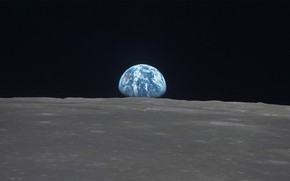 Picture planet, The moon, Earth, Sea Smith