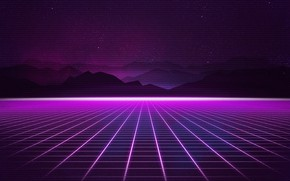 Wallpaper Music, Stars, Background, 80s, Neon, 80's, Synth, Retrowave, Synthwave, New Retro Wave, Futuresynth, Sintav, Retrouve, ...