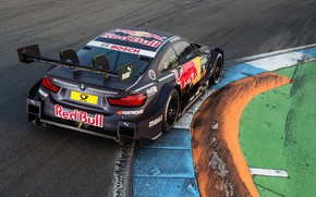 Picture BMW, DTM, Wing, 2017, Silhouette prototype, BMW M4 DTM (F82)
