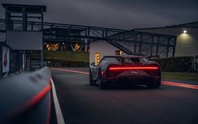 Picture light, strip, Bugatti, back, Chiron, 2020, Chiron Pur Sport
