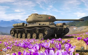 Picture WoT, World of Tanks, Wargaming, spring art, IP