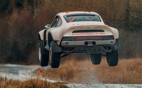 Picture squirt, jump, 911, Porsche, Singer, acs, 2021, SCRS, All-terrain Competition Study