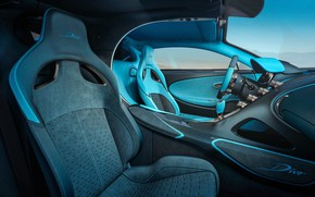 Picture Bugatti, supercar, salon, 2018, hypercar, Divo