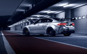 Wallpaper XE SV, rear view, 2018, Jaguar, Project 8