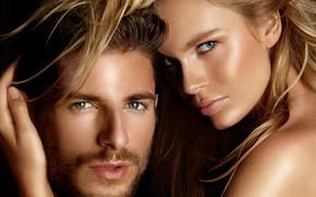 Picture look, girl, pair, male, lovers, Albert Sanchez