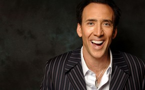 Picture smile, Nicolas Cage, actor, Nicolas Cage