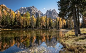 Picture mountains, nature, Dolomite Beauty