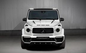 Picture Mercedes-Benz, front view, AMG, Inferno, G-Class, Gelandewagen, Ball Wed, G63, Edition 1, 2019