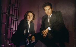 Picture the series, The X-Files, the FBI, Classified material, agents