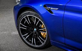 Picture wheel, BMW, sedan, BMW M5, 2017, M5, F90