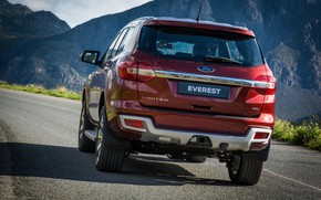 Picture Ford, Everest, feed, Limited, 4WD, 2015