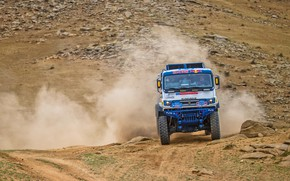 Picture Auto, Dust, Sport, Machine, Speed, Truck, Race, Master, Russia, Race, Russia, Speed, 302, Kamaz, Rally, …