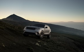 Picture the evening, Range Rover, crossover, CGI, Velar