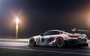 Picture BMW, racing car, GTE, BMW M8