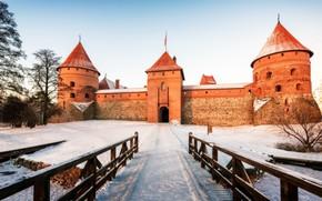 Picture Trakai, Lithuania, pilis