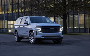 Picture Chevrolet, SUV, Suburban, 2020, full-size