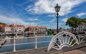 Picture home, Netherlands, harbour, gateway, Middelburg