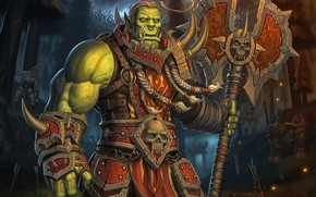Picture Forest, World of Warcraft, Fantasy, Blizzard, Art, Orc, Game, WarCraft, Troll, Characters, Tauren, Game Art, ...