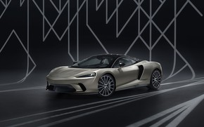 Picture McLaren, supercar, MSO, 2019, McLaren GT, Defined Flux Silver