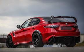 Picture wing, Alfa Romeo, ass, Giulia, GTAm, 2020, Gran Turismo Alleggerita changed