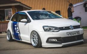 Picture Volkswagen, Volkswagen, hatchback, Polo, Polo, low, R Line