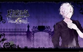Picture background, anime, art, vampire, guy, Diabolik Lovers, the devil's beloved