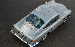 Picture Aston Martin, top, DB5, 2020, Goldfinger Continuation