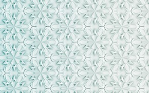 Picture white, flowers, abstraction, background, pattern, texture