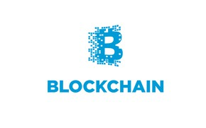 Picture white, background, blue, white, blue, fon, blockchain, blockchain