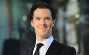 Picture smile, background, male, actor, Benedict Cumberbatch, Benedict Cumberbatch, British actor