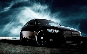 Picture coupe, BMW E92, body modification of the fifth generation, BMW 3 series