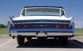 Picture 1960, rear view, Convertible, Lincoln Continental, Mark V