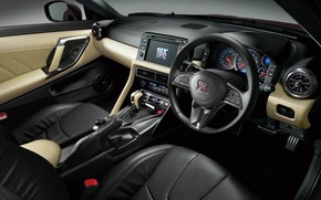 Picture Nissan, GT-R, salon, R35, JP-Spec, 2019, Naomi Osaka, Japan version