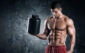 Wallpaper power, muscles, bodybuilder