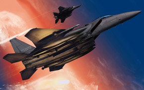 Picture F-15, South Korea, Fighter-bomber, Боевая авиация