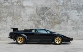 Picture Supercar, Lamborghini Countach, 5000QV, 1988