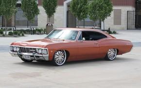 Picture machine, tuning, Chevrolet, Chevrolet, wheels, tuning, 1967, custom, Impala, Chevrolet Impala 1967, Chevrolet Impala