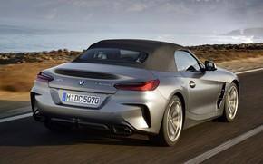 Picture grey, rocks, BMW, Roadster, BMW Z4, M40i, Z4, 2019, G29