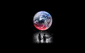 Picture Minimalism, Planet, Children, Style, Background, Art, Art, Planet, Style, Background, Minimalism, Children, by DesignByHumans, Design …